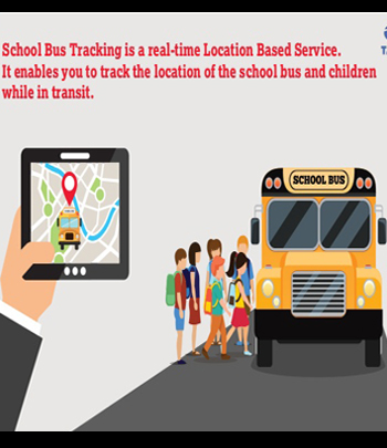 School Bus Tracking for Child with Route map
